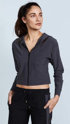 Cushnie et Ochs Selma Hooded Zip Up Jacket