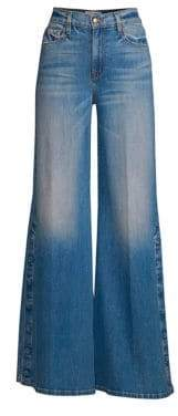 Frame Women's Le Palazzo Snap Away Jeans - Snow Mass - Size 26 (2-4)