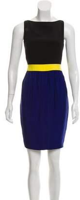 Martin Grant Colorblock Mini Dress