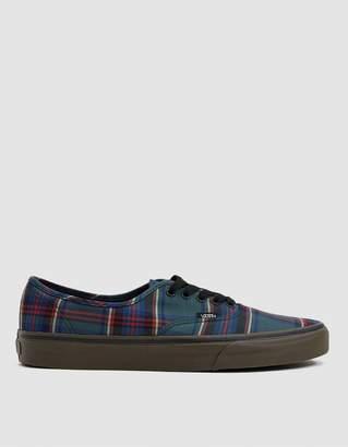 Vans Authentic Tartan Gum Sneaker