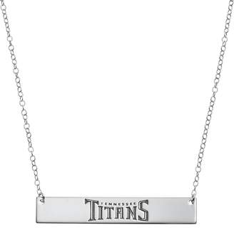 Tennessee Titans Sterling Silver Bar Link Necklace