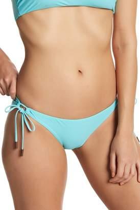 Red Carter Drawstring Hipster Bikini Bottoms