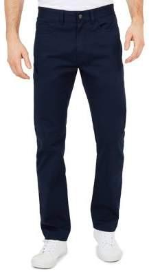 Nautica Straight-Fit Stretch-Cotton Pants
