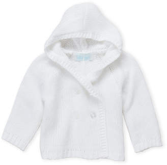 Baby Essentials Baby Dove (Newborn Girls) Hooded Knit Cardigan