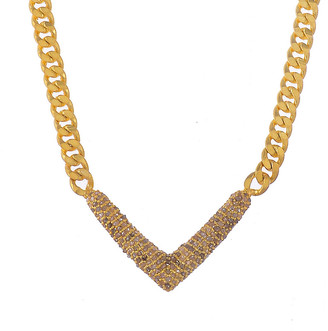 Forever Creations USA Inc. Forever Creations 18K Gold Over Silver 1.50 Ct. Tw. Diamond Necklace