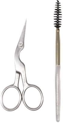 Tweezerman Brow Shaping Scissors With Brush