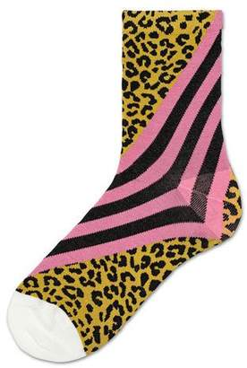 Hysteria By Happy Socks Samanta Graphic Cotton Socks