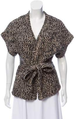 Diane von Furstenberg Knit Short-Sleeve Cardigan