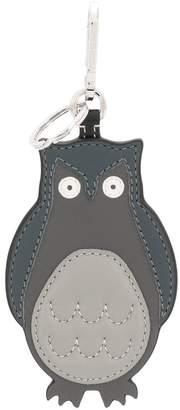 Loewe stitched owl keyring
