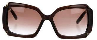 Louis Vuitton Hortensia Oversize Sunglasses
