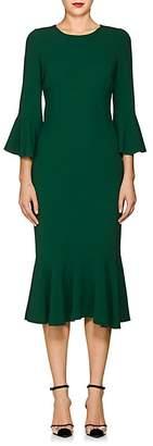 Dolce & Gabbana Women's Flounce-Hem Stretch-Cady Dress