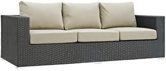 """One Kings Lane Hayden 88"""" Sofa - Antiqued Beige"""