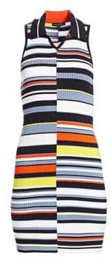 Rag & Bone Mason Striped Sleeveless Knit Dress