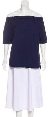 MICHAEL Michael Kors Off-The-Shoulder Short Sleeve Top