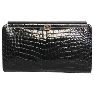 Gucci Black Exotic Leathers Clutch Bag