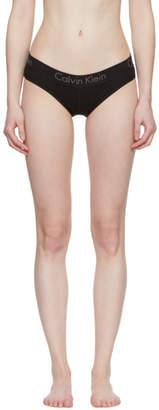 Calvin Klein Underwear Black Cotton Bikini Briefs