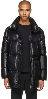 Moncler Black Down Mancora Coat