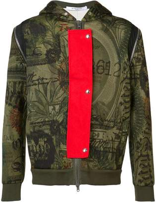 Givenchy dollar print hoodie