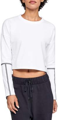 Under Armour Womens UA Lighter Longer Cropped Crew