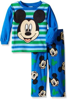 Disney Little Boys' Mickey Mouse 'A Friendly Face' 2-Piece Pajama Set