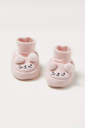 H&M Knit Slipper Socks - Pink