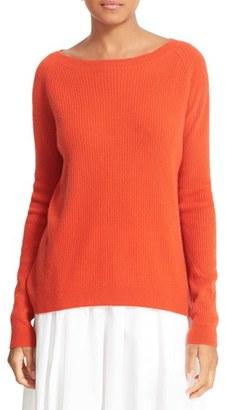 Women's Vince Rib Knit Raglan Sleeve Cashmere Sweater $320 thestylecure.com