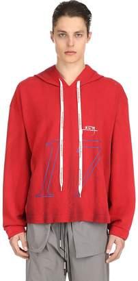 A-Cold-Wall* Hooded Printed Neoprene Sweatshirt
