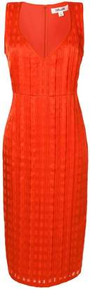 Diane von Furstenberg fitted midi dress