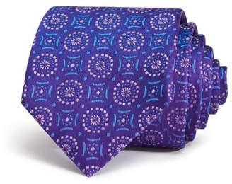 Emporio Armani Medallion Classic Silk Tie