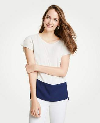 Ann Taylor Colorblock Tunic