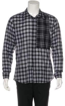 Givenchy 2016 Plaid Shirt w/ Tags