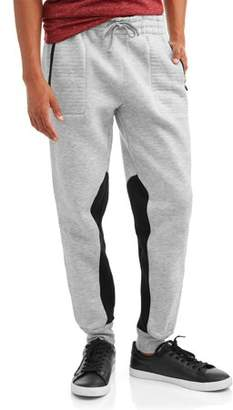 Phat Farm Men's Two Color Fleece Jogger w Zipper