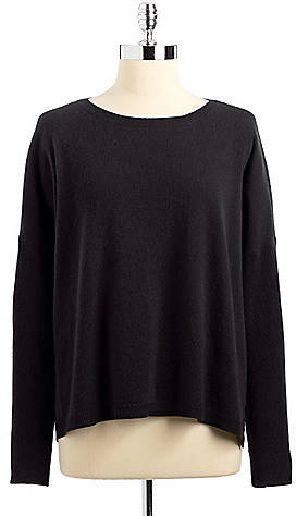 Lord & Taylor Cashmere East/West Pullover