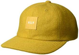 HUF Men's Wool Box Logo 6 Panel HAT