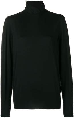 Agnona long-sleeve fitted sweater