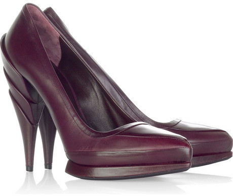 Miu Miu Sculpted heel pumps