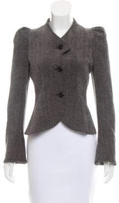Emporio Armani Structured Herringbone Jacket