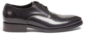 Balenciaga City Evening Derby Shoes - Mens - Black