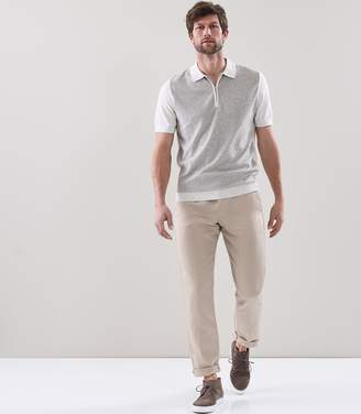 Reiss Victor Terry Towelling Polo Shirt