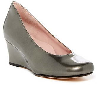 Taryn Rose Taijo Wedge Pump $220 thestylecure.com