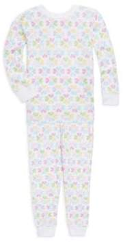 Kissy Kissy Little Girl's Spring Hearts Pajama Set