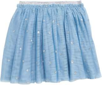 Boden Glitter Dot Party Skirt