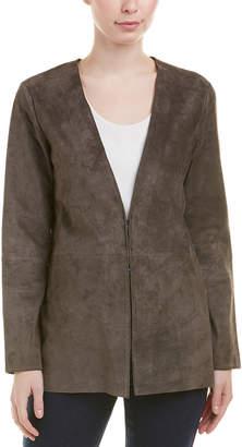 Ecru Suede Jacket