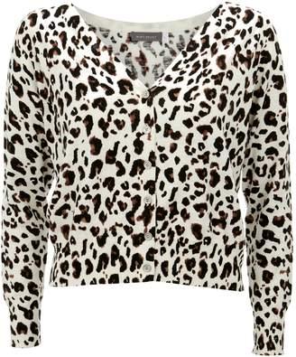 Next Womens Mint Velvet Animal Button Front Cardigan