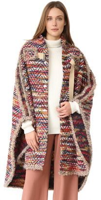 See by Chloe Boho Cape Coat $895 thestylecure.com
