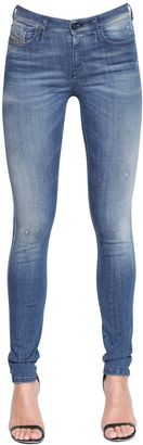 Skinzee Stretch Cotton Denim Jeans $228 thestylecure.com