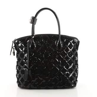 Louis Vuitton Lockit Black Patent leather Handbag