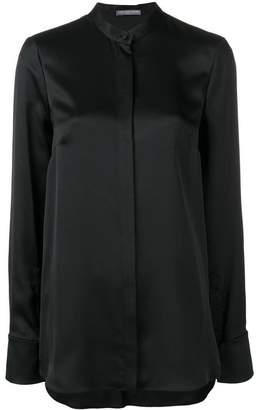 Alexander McQueen loose-fit silk shirt