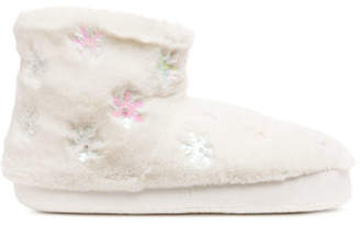 H&M Pile-lined slippers - White