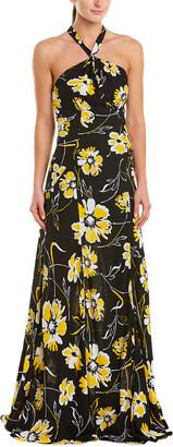 Michael Kors Silk Maxi Dress